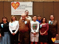 Group photo of caregivers and advocates