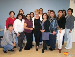 Group photo of trainees and instructor in Las Cruces