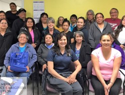 Health and Safety for Caregivers training class in Dulce